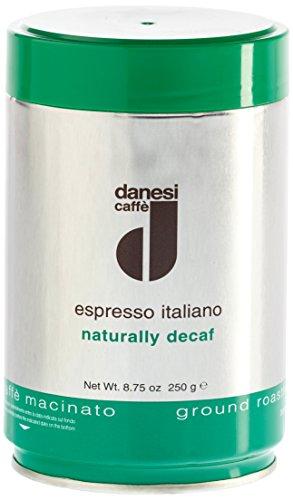 Danesi Caffè Decaffeinato (Entkoffeiniert), Gemahlen, 2er Pack (2 x 250 g)