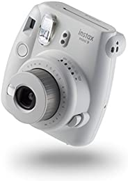 Fujifilm Instax Mini 9 Camera Smoky White, Met 10 opnamen, Smoky Weiß