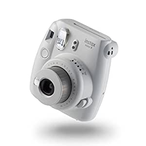 instax Mini 9 Camera with 10 Shots - Smoky White