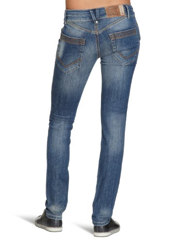 Blue Level Damen Jeans F101 Blau (3 Mid Blue)
