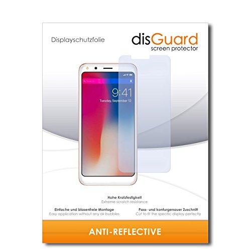 disGuard® Displayschutzfolie [Anti-Reflex] kompatibel mit Doogee X53 [2 Stück] Entspiegelnd, Matt, Antireflektierend, Extrem Kratzfest, Anti-Fingerabdruck - Panzerglas Folie, Schutzfolie
