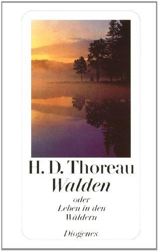 Buchseite und Rezensionen zu 'Walden oder Leben in den Wäldern' von Henry David Thoreau