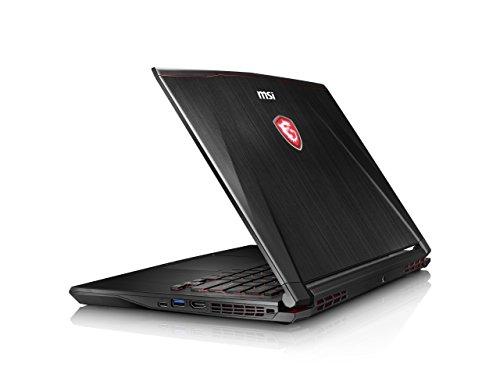 MSI GS43VR 7RE (Phantom Pro) 061UK 14 Inch Gaming Laptop (Black) – (Kabylake Core i7-7700HQ, 16 GB RAM, 256GB SSD, 1TB HDD, GTX 1060, Windows 10)
