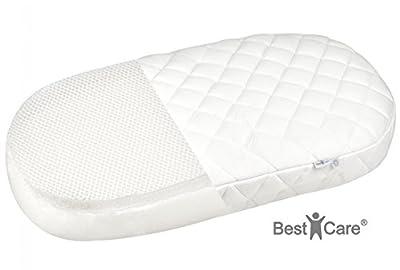 BestCare® - Colchón Aero para carrito con doble cara (verano-invierno), con tratamiento Aloe Vera, para niños, cuna, dormir de forma placentera durante todo el año.