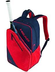 Head Core 9R mochila bolsa para raquetas de tenis, color azul oscuro y rojo, tamaño n/a