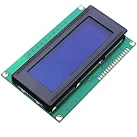 ILS - 3 pieces 5V 2004 20X4 204 2004A LCD Display Module Blue Screen For Arduino