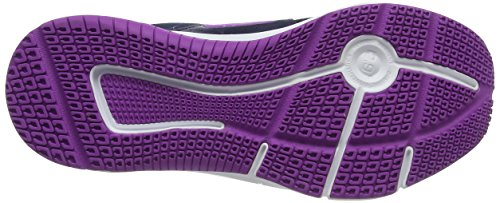 Reebok Express Runner, Chaussures de Running Compétition Femme Bleu (Collegiate Navy / Solar Yel / Vic Violet / White)