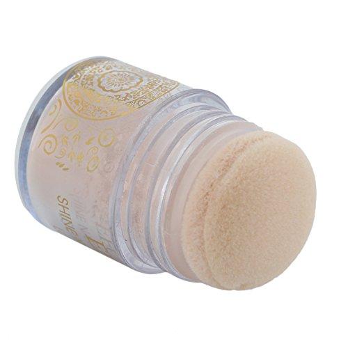 Pinzhi Maquillage de poudre de maquillage de poudre de maquillage de beauté de peau de beauté légère de poudre de maquillage