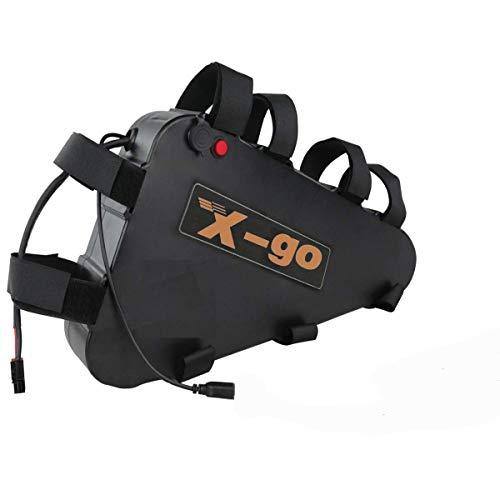 X-go 52V/48V/36V/24V batería Bicicleta Iones Litio
