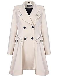 b5139d4ee De La Creme - Womens Spring Fit   Flair Laced Back Raincoat Size 8