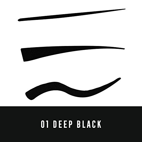 Max Factor Colour X-Pert Waterproof Eyeliner, 1 Deep Black
