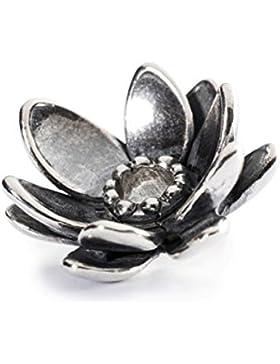 Trollbeads Damen-Anhänger Gigantischer Lotus 925 Silber - TAGPE-00018