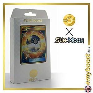 Ultra Ball 161/149 Entrenadore Secreta - #myboost X Sun & Moon 1 - Box de 10 cartas Pokémon Inglesas