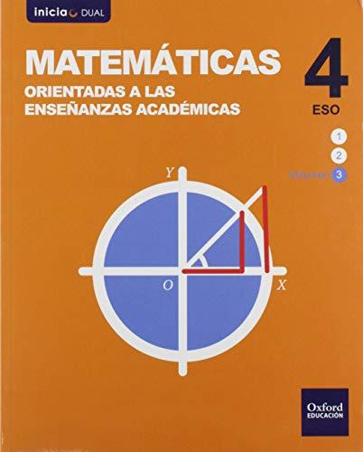 Inicia Matemáticas orientadas a las enseñanzas académicas 4.º ESO. Libro del...