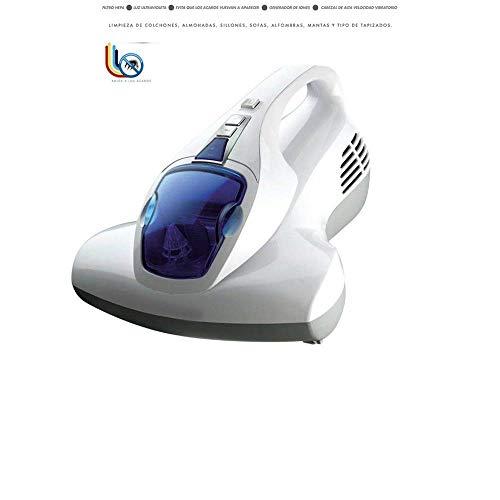 Aspirador de colchón | Aspirador de Ácaros | Luz Ultravioleta e Iones | Desinfectante de Colchones...