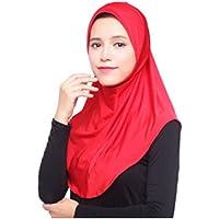 Muslim Hijab Islamischen Trikot Turban Frauen Schwarz Ninja Unter schal Kap Instant Kopftuch Volld