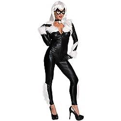 Rubies s oficial Ladies Marvel Secret Wishes disfraz de gato negro–XS–UK 6–8