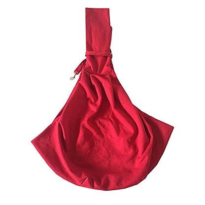 PENIVO Reversible Pet dog Bag Hands Free,Strap Adjustable Sling Carrier Transport bags shoulder bag for small medium… 2