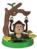 Die schaukelnder Affe Solarfigur