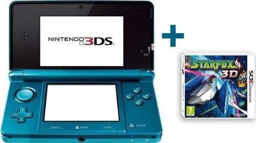 Nintendo 3DS BLEUE LAGON + STARFOX 64