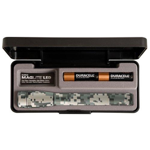 Preisvergleich Produktbild Mag-Lite SP22MR7 Mini 2AA Multimode Hochleistungs-LED-Taschenlampe mit 69 lm, 17 cm, Aluminium, camouflage