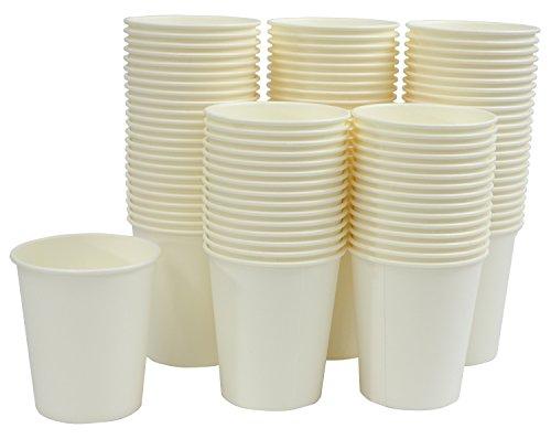 100 Kokuyo S & T gobelets en papier blanc 210ml (Japon import / Le paquet et le manuel sont ?crites en japonais)