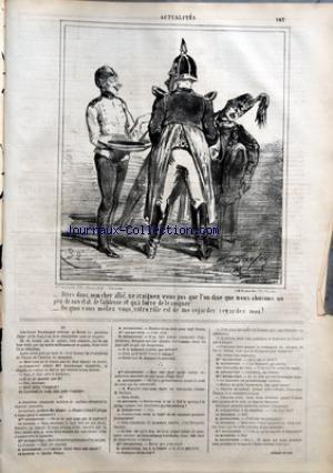 CHARIVARI (LE) du 19/09/1864 - LA SEMAIN...