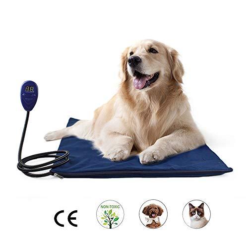 KOBWA Heizkissen für Haustiere, für Hunde und Katzen, Hase, elektrisch, verstellbar, 30 Warzen, 50...