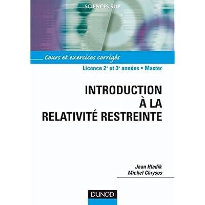 relativite restreinte cours pdf