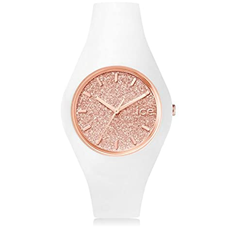 Ice-Watch - ICE.GT.WRG.U.S.15 - Montre Femme - Quartz - Analogique - Bracelet Silicone Blanc