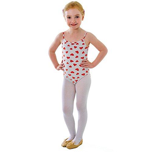 0a Kinder Strumpfhosen weiß 4/6kleine, eine Größe (Kobold Kostüm Kleinkind)