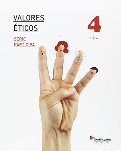 VALORES ETICOS SERIE PARTICIPA 4 ESO - 9788499726014