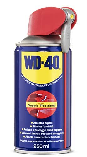 WD-40 Prodotto Multifunzione -  Lubrificante Spray con Sistema Professionale Doppia Posizione - 250 m