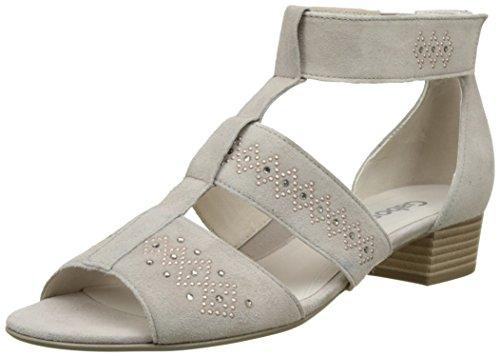 Gabor Shoes Fashion, Sandali con Zeppa Donna Beige (light nude 14)