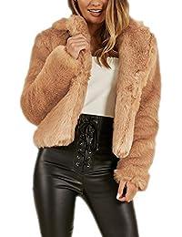 the latest b4d43 18745 Amazon.it: pelliccia donna corta: Abbigliamento