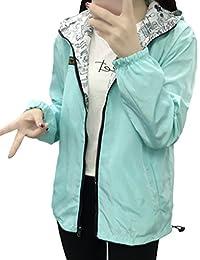 Baymate Mujer Otoño Primavera Chaqueta Con Capucha Moda Suelto Trench Coat Mangas Largas Moda…