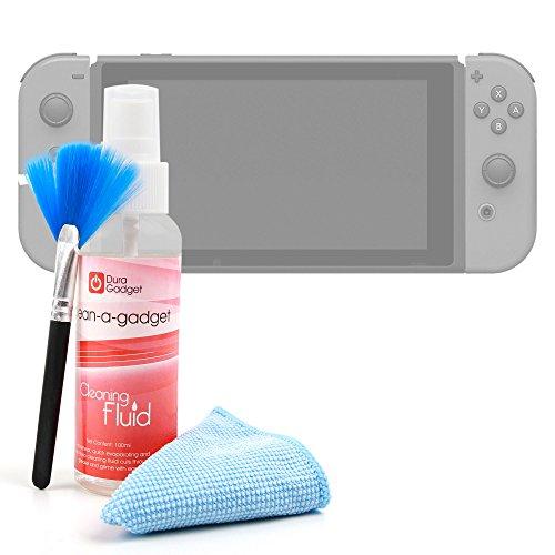 DURAGADGET Reinigungszubehör für Spielekonsole Nintendo Switch Display 6,2 Zoll
