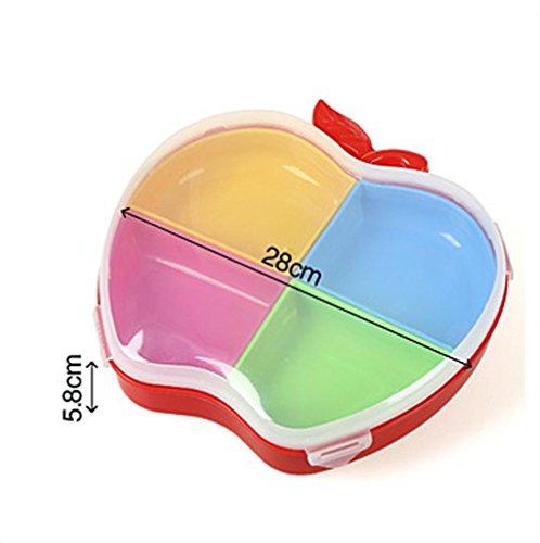 WYFC Candy-Box mit Deckel Kunststoff Aufbewahrungsboxen Wohnzimmer aus europäischen getrocknete Früchte Samen Obstschale . 2#