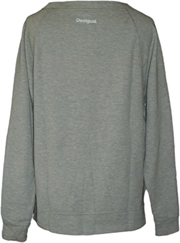 Desigual rionam a sweat-shirt pour femme Gris - Gris