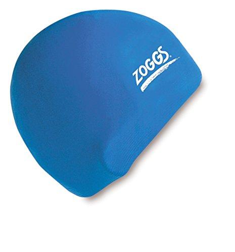 Zoggs Badehaube Cap Standard - Gorro de natación, color azul, talla L