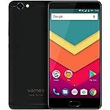 Vernee Thor Plus - 5,5 Zoll AMOLED Bildschirm 4G Android 7.0 Smartphone, 6200mAh Akku in 7,9mm sichtbare Dicke, Octa Core 3GB RAM 32GB ROM, Full Metal Body, 8MP + 13MP Kamera, GPS + GLONASS, Fast Charge - Schwarz