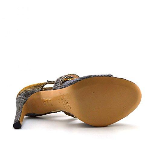 LIU JO SANDALO TC 100 MARIS S16047T8965 sandalo donna con tacco Oro