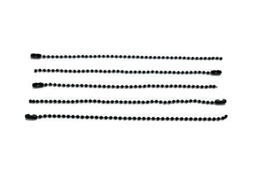 Lüfter Decke Licht (silber Metall Kugel Kette mit Steckverbinder Verschluss - 15cm Schnur für die Zubereitung von Schlüsselanhänger,Anhänger,Schmuck - Reparatur Licht Befestigungen oder Decke Lüfter Schnüren - Tangle)