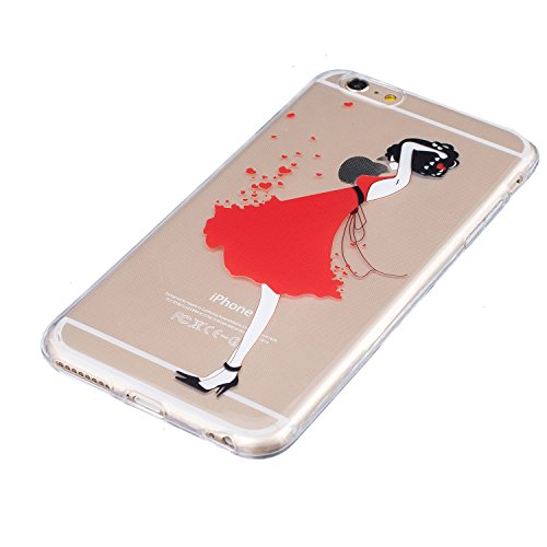 Meet de Slim de Protection Téléphone Case pour iphone 5S /iphone SE, iphone 5S /iphone SE Bumper Case Coque, (motifs peints) iphone 5S /iphone SE Slim TPU Transparent Silicone Housse Etui pour iphone  HX1-A12