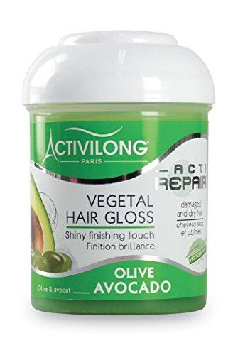 Activilong Actirepair Brillantine Végétale Hair Gloss aux Huiles d'Olive et Avocat Bio 125 ml