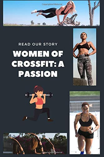 Women\'s CrossFit Sports: Workout log book & Fitness Journal Crossfit  Bodybuilding Journal, Fitness Tracker Journal, Fitness Log Book, Gym Log Book For  Women, 6  x 9, 120 Pages