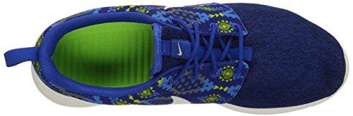 Nike Herren Roshe One Print Laufschuhe blau (Game Royal/Sail-Cl Grey-Pht Bl)