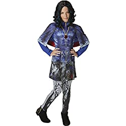 Rubie's 620373 - Los Descendientes - Disfraz de Evie Deluxe para niña, 5-6 años