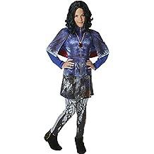 Los Descendientes - Disfraz Evie Deluxe, para niños, talla M (Rubie's 620373-M)