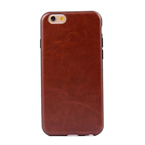 iPhone Case Cover bunte Muster Kunstleder Stil weichen Fall TPU + PC 2 in 1 Material Abdeckungsfall Haut für iPhone 6 6S ( PATTERN : Red , Size : IPhone 6/6S ) Brown